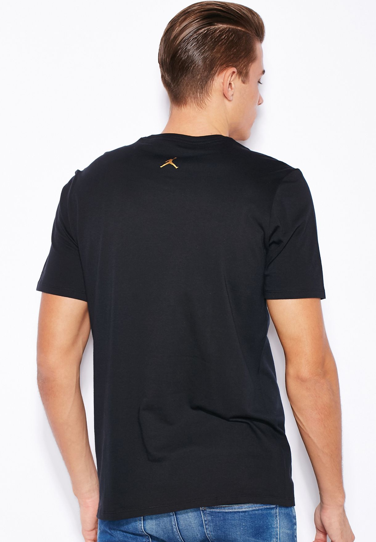 e77174fbe Shop Nike black Jordan Dubai City T-Shirt 839149-010 for Men in UAE ...