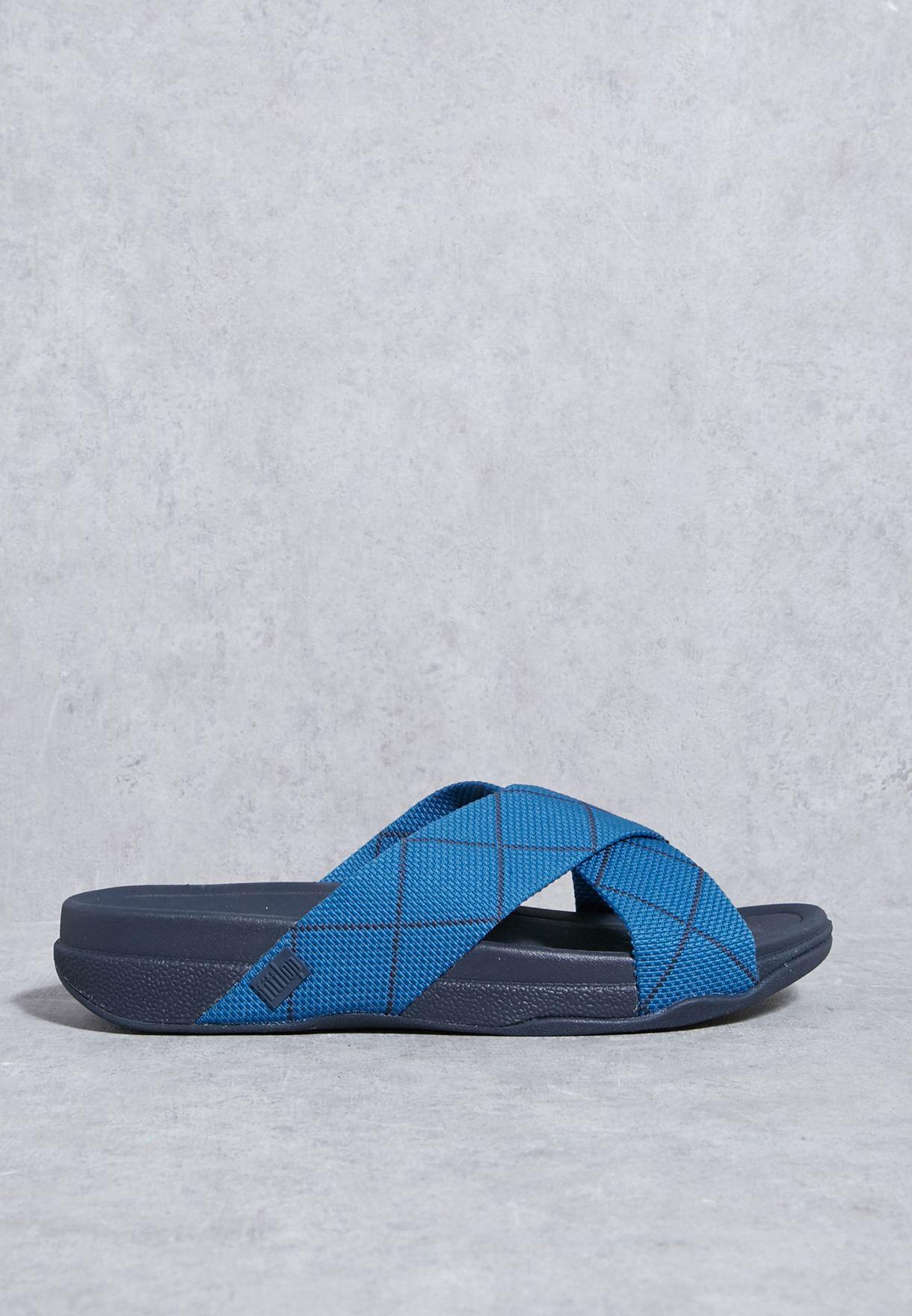 8adc492946f7 Shop Fitflop navy Surfer Dyno Slide Sandals H08-451 for Men in UAE ...