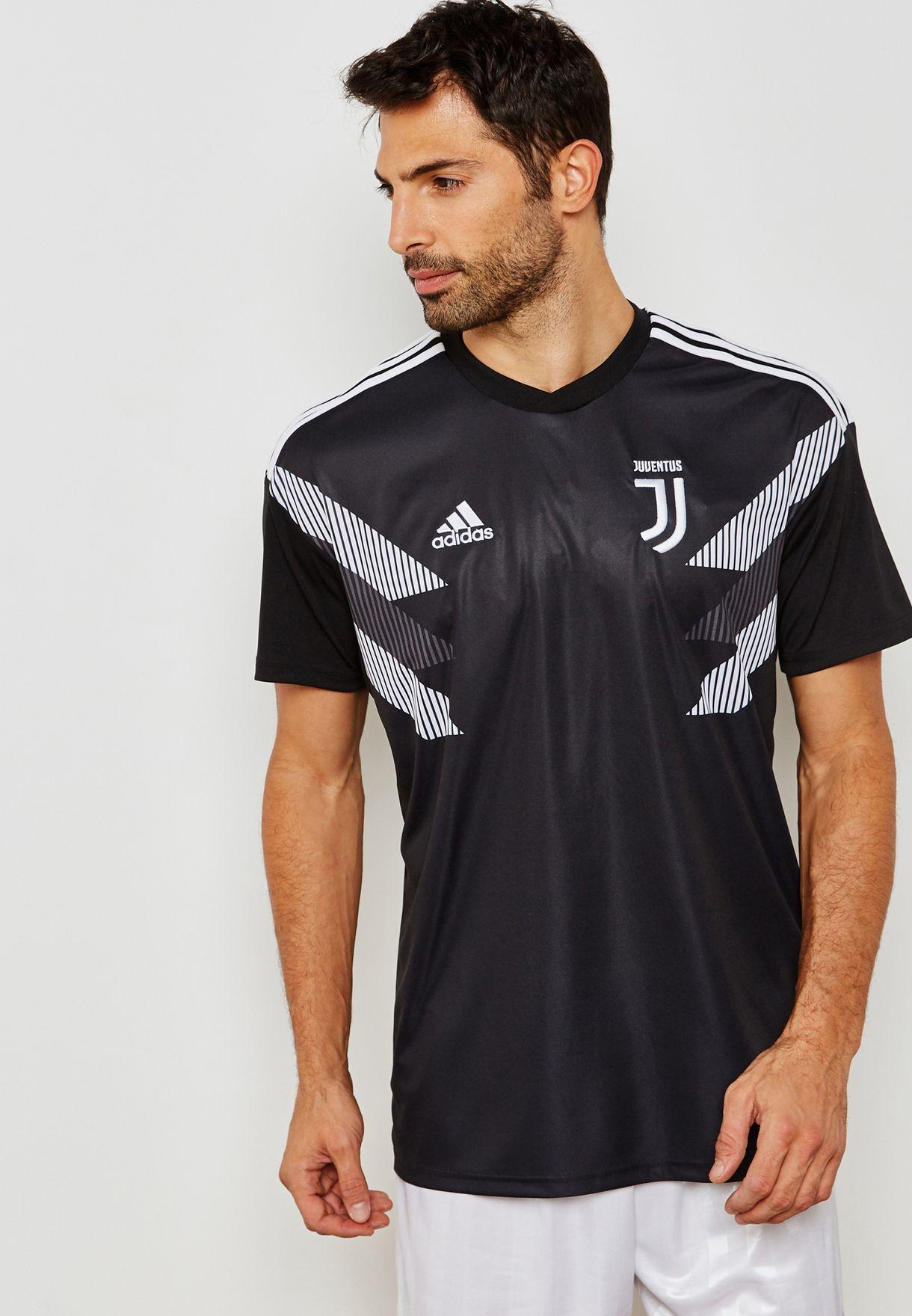 cea6cd68038 Shop adidas monochrome Juventus Home Pre-match Jersey CW5821 for Men ...
