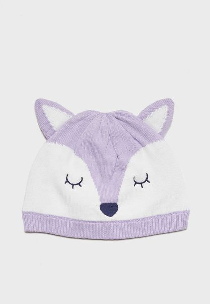 Infant Fox Beanie