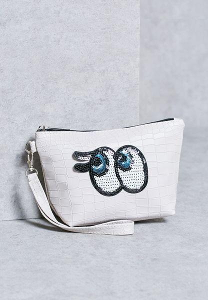 Eyes Cosmetic Bag