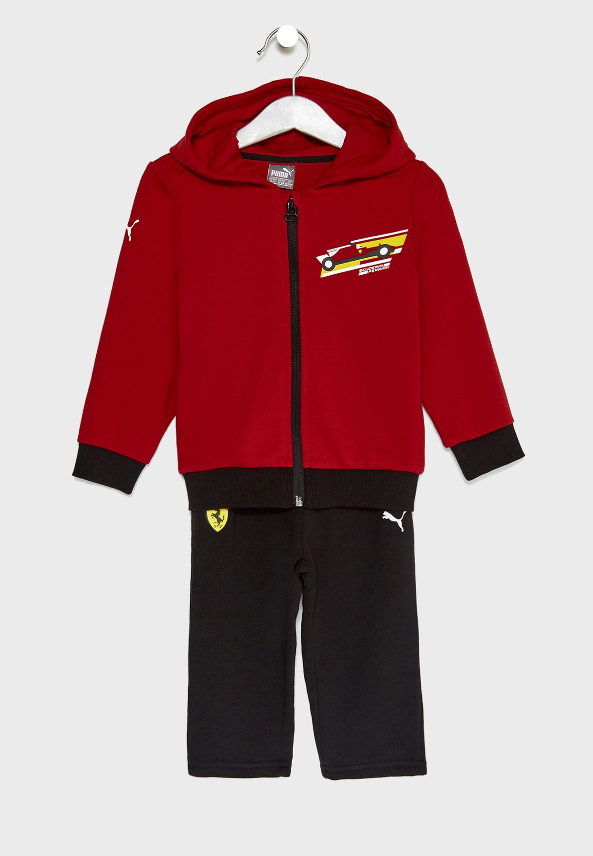 416e859a6bde Shop PUMA multicolor Infant Ferrari Jogger Set 57673101 for Kids in ...