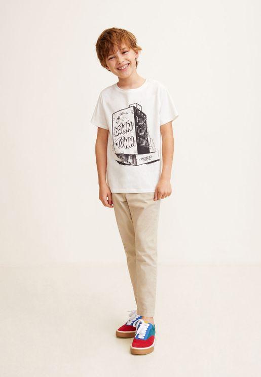 Kids City Graphic T-Shirt