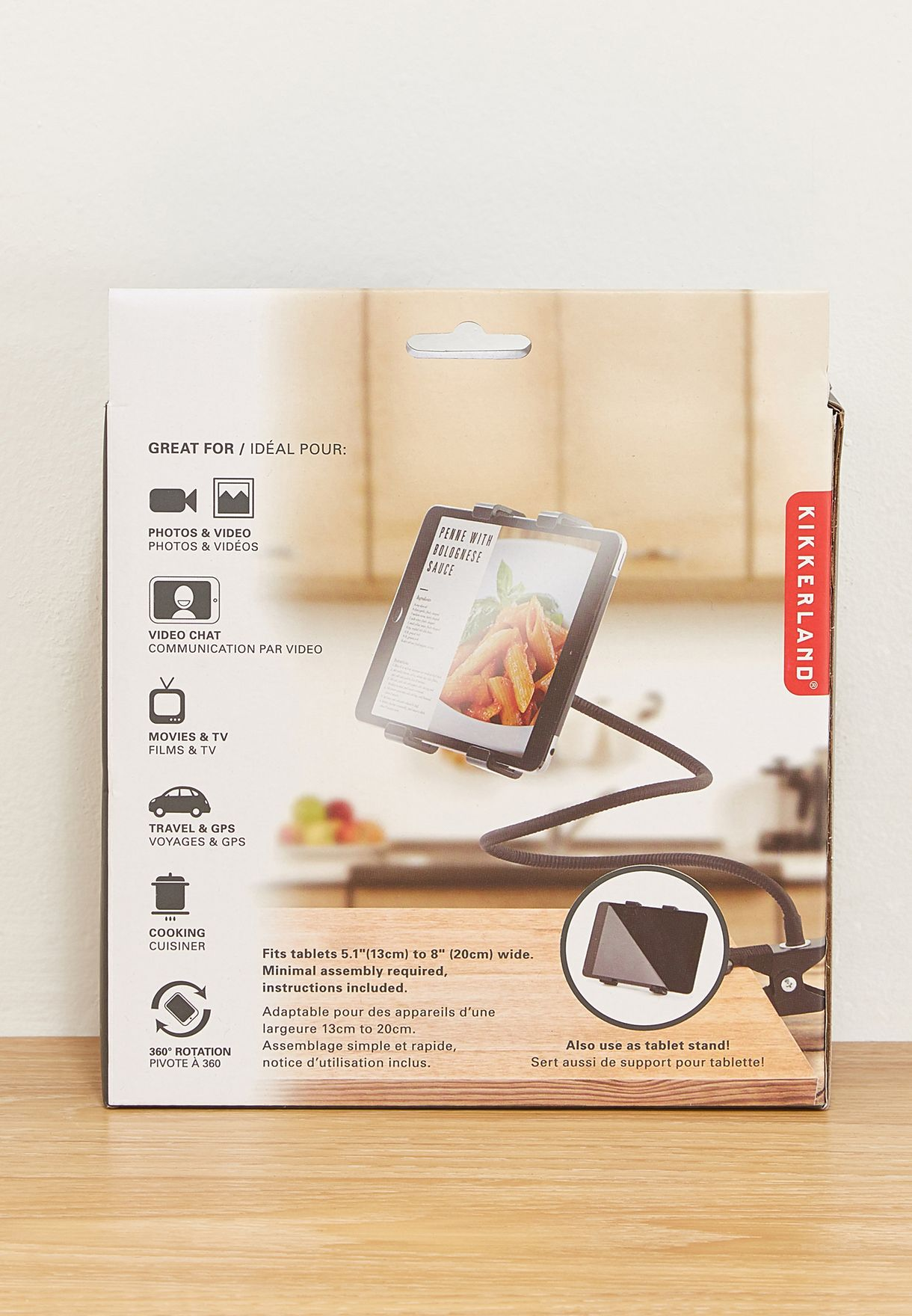 Flexible Tablet Holder