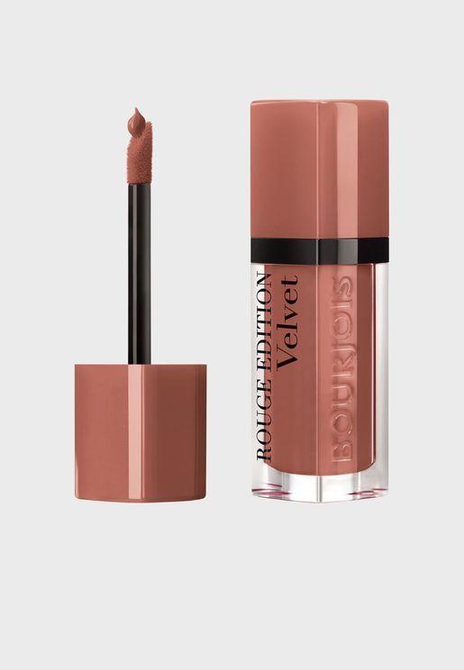 Rouge Edition Velvet Liquid lipstick - Cool Brown