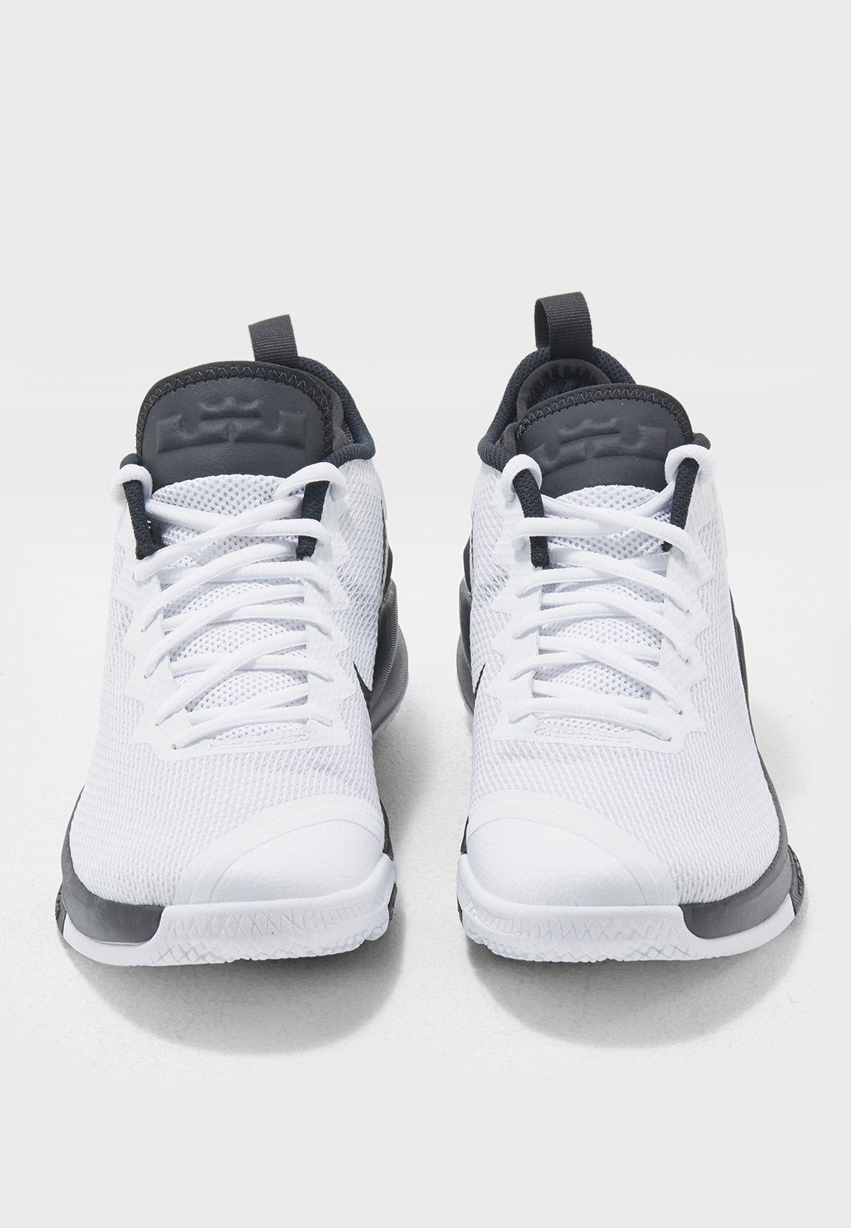 d7e0e876c7c3 Shop Nike white LeBron Witness II 942518-100 for Men in Saudi ...