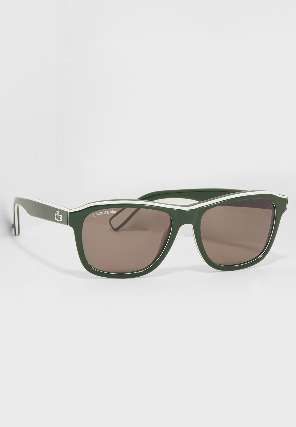 0645637e0637e Shop Lacoste green Wayfarer Sunglasses L827S for Men in UAE ...