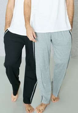 2 Pack Pyjama Bottoms