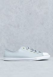 ccccee6ce52956 Shop Converse grey Chuck Taylor All Star Dainty 555838C-020 for Women in  UAE - CO049SH10MOZ