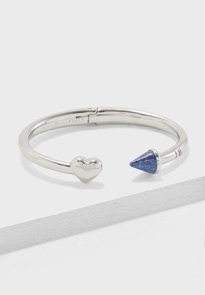 Hinged Heart Bracelet