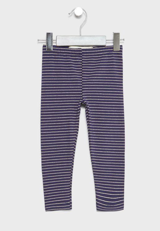 Little Striped Leggings