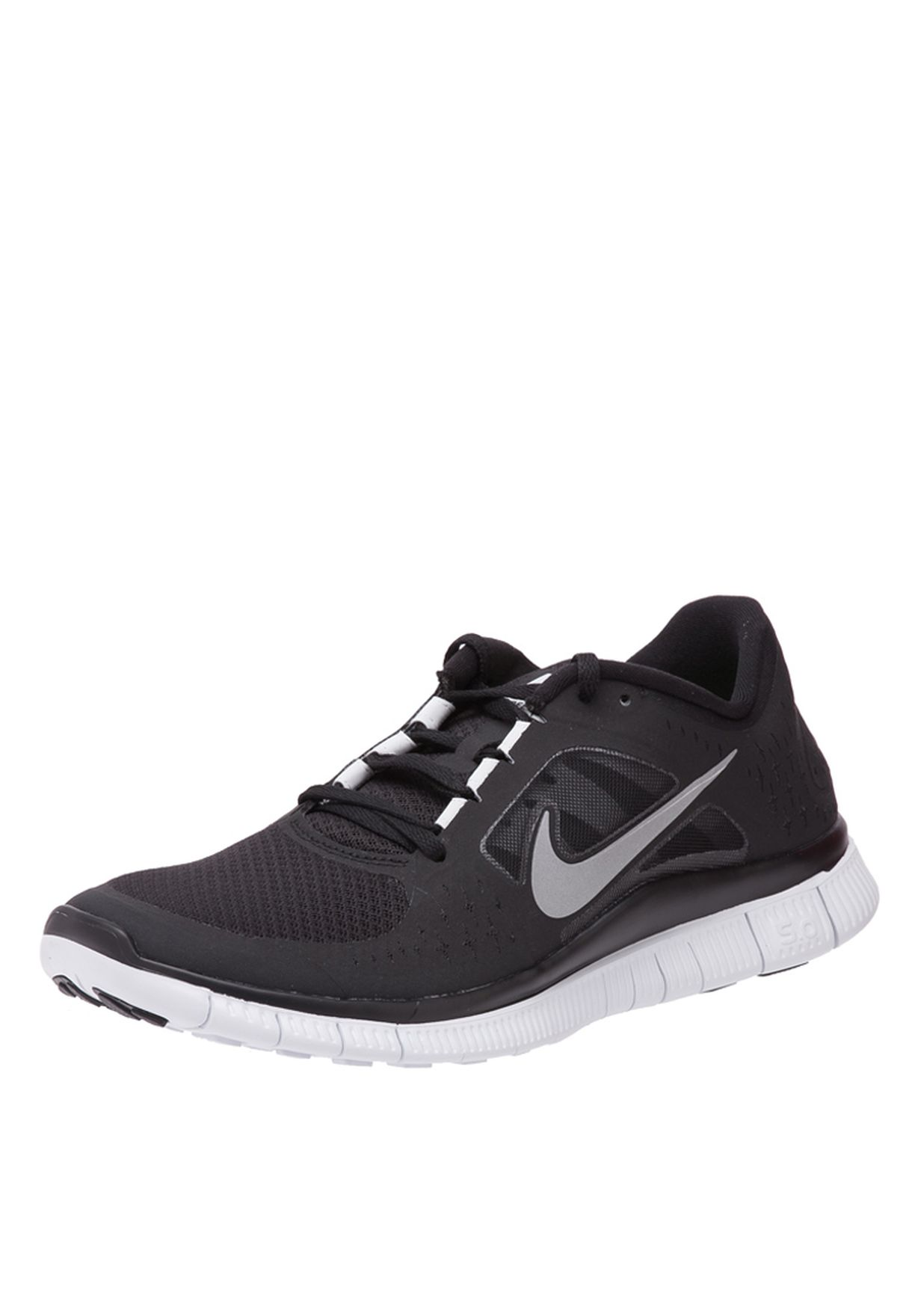 3fd982abed8c3 Shop Nike black Free Run Trainers 510642-002 for Men in UAE ...