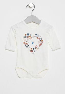 Infant Femia Printed Onesie