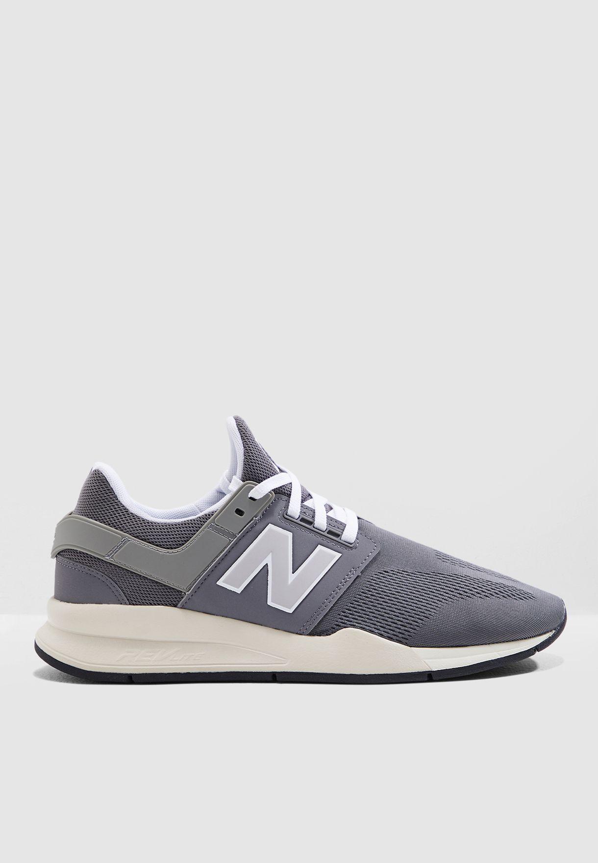 e506331a6 تسوق حذاء 247 ماركة نيو بالانس لون رمادي MS247MM في السعودية ...