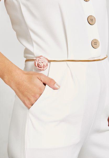 Floral Chain Waist Belt
