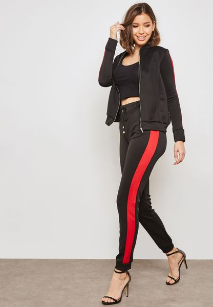Scuba Side Paneled Joggers Set