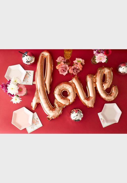 Truly Romantic Love Balloon