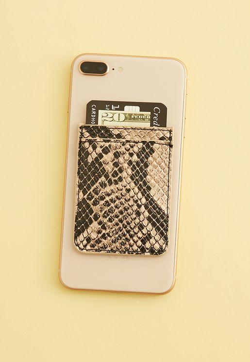 جيب مطبع لاصق للهاتف المحمول