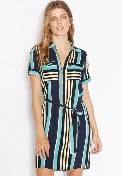 Sast Online Womens Zip Front Shirt Dress Dorothy Perkins Discount Footlocker Finishline Low Cost Sale Online Buy Cheap Good Selling Cheap Price In China C9eSS