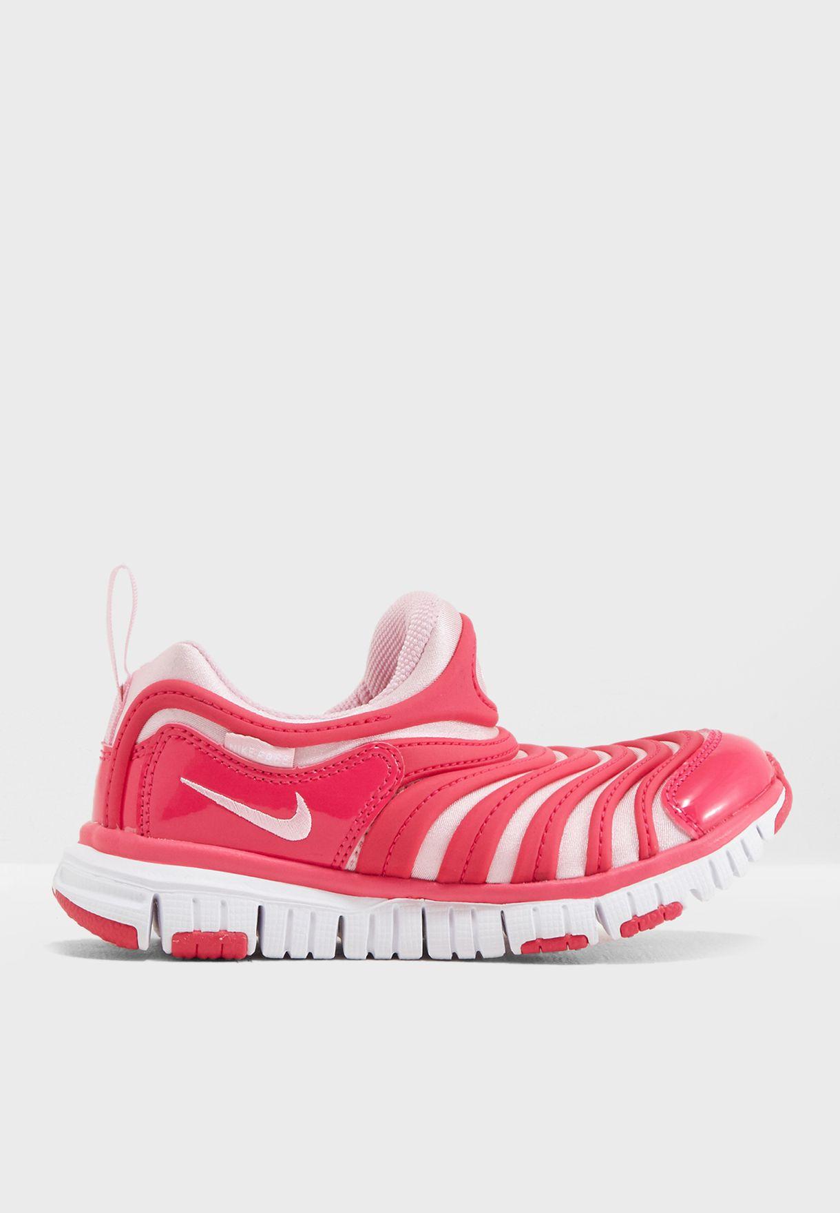 78753f64d63fe Shop Nike pink Kids Dynamo Free 343738-626 for Kids in Globally ...