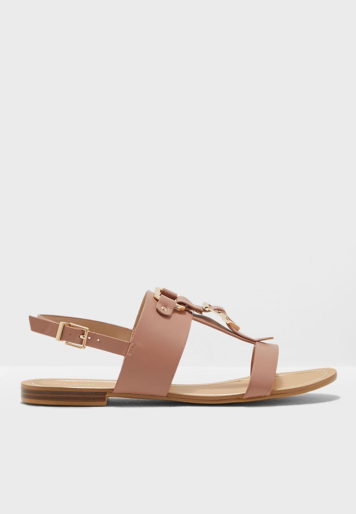 Strappy Flat Sandal