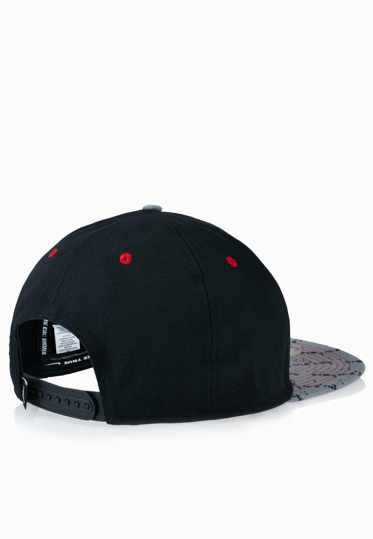 Shop Nike black Air Jordan Snapback Cap 707249-010 for Men in ... 30e2b3ba2