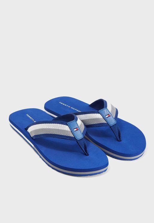 Corporate Mesh Beach Flip Flops