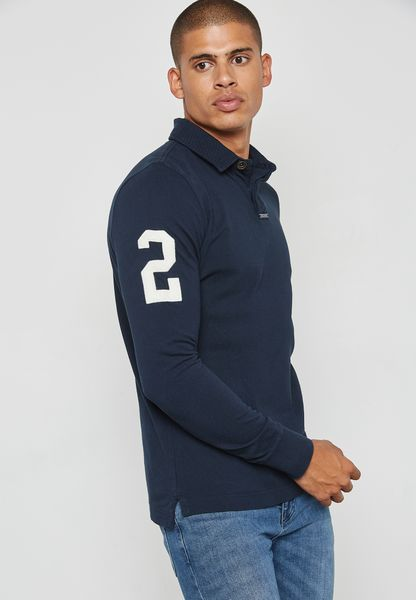 Academy Rugby L/S Polo