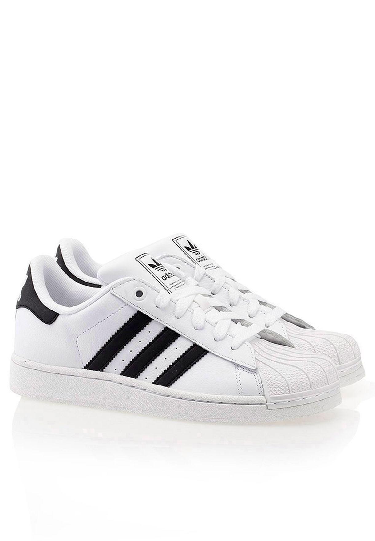 Shop adidas Originals white Superstar 2 K Sneakers G04532 for Kids in Qatar  - AD476SH00MVN b94e235b42