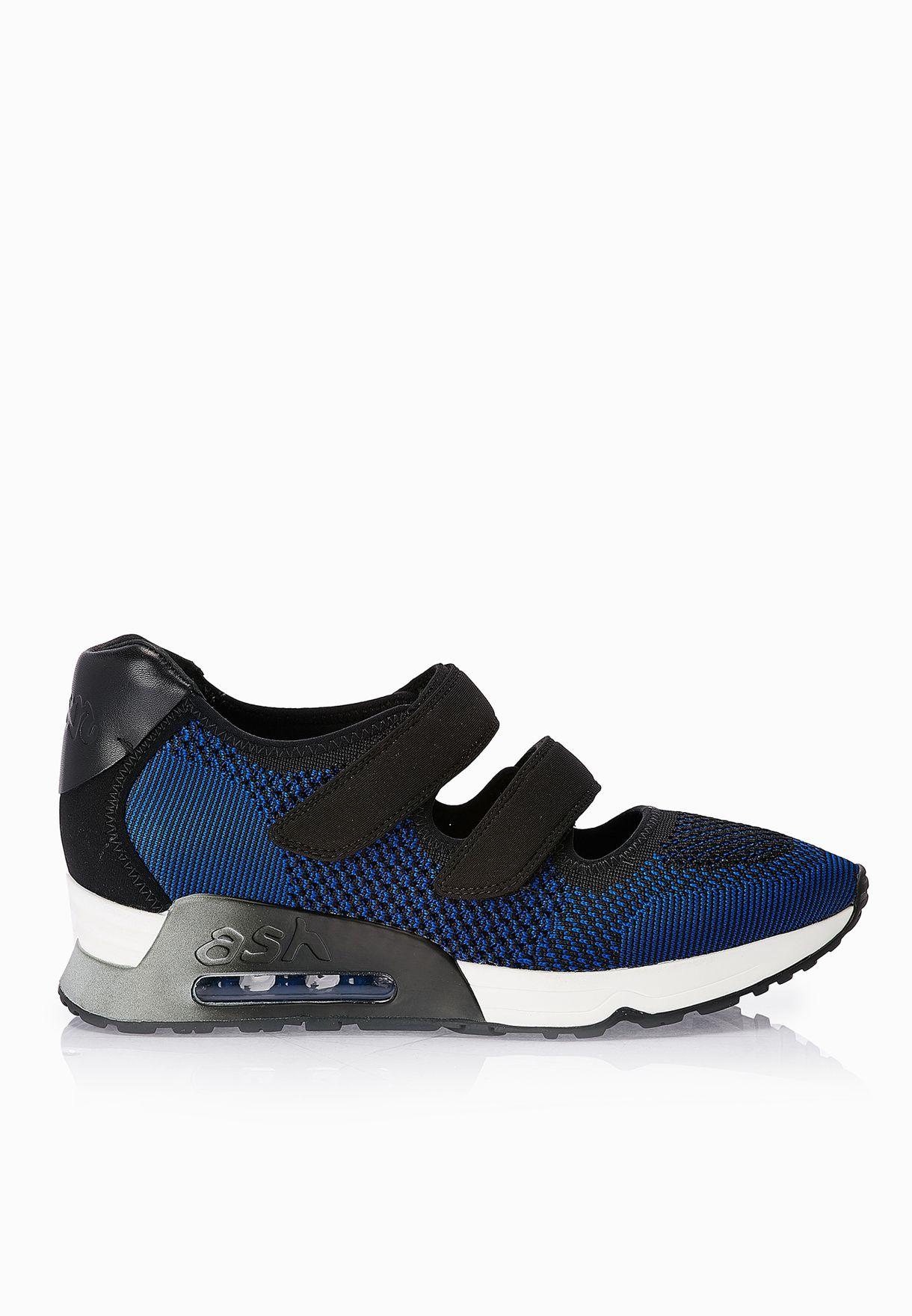 a70e706c3a04 Shop Ash blue Lulu Velcro Strap Sneakers for Women in Oman ...