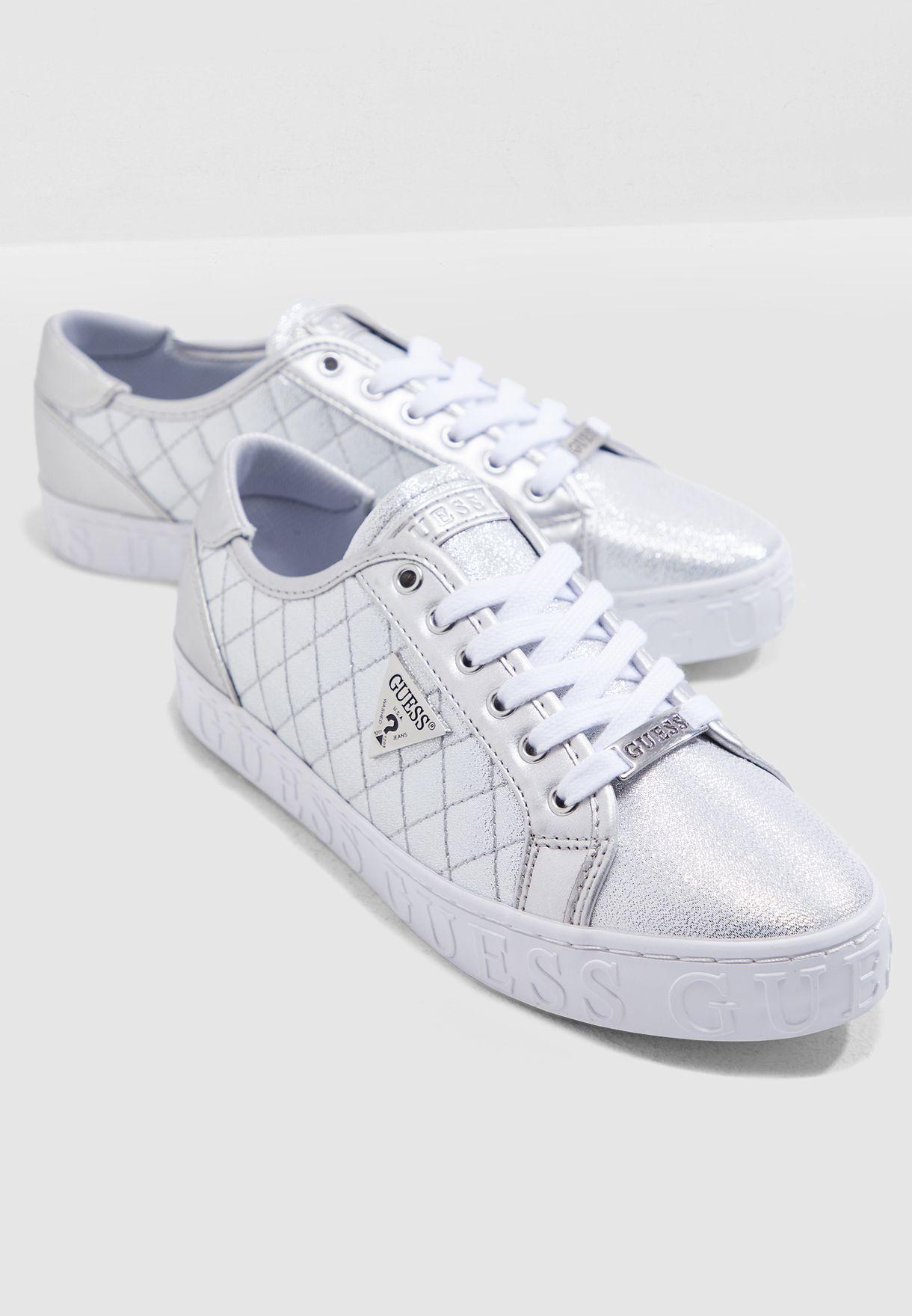 Buy Guess silver Graceen Casual Sneaker