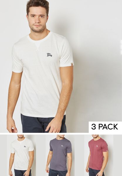 Willwood 3 Pack T-Shirt