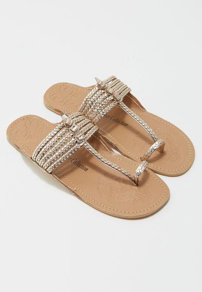 Flat Toeloop Sandal