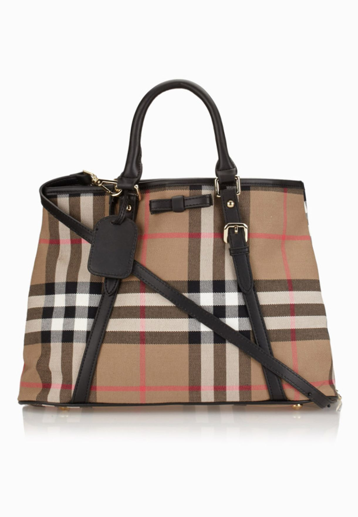 a002a841f3d45 تسوق حقيبة تسوق بطبعات مربعات ماركة جينجر لون browns في قطر ...