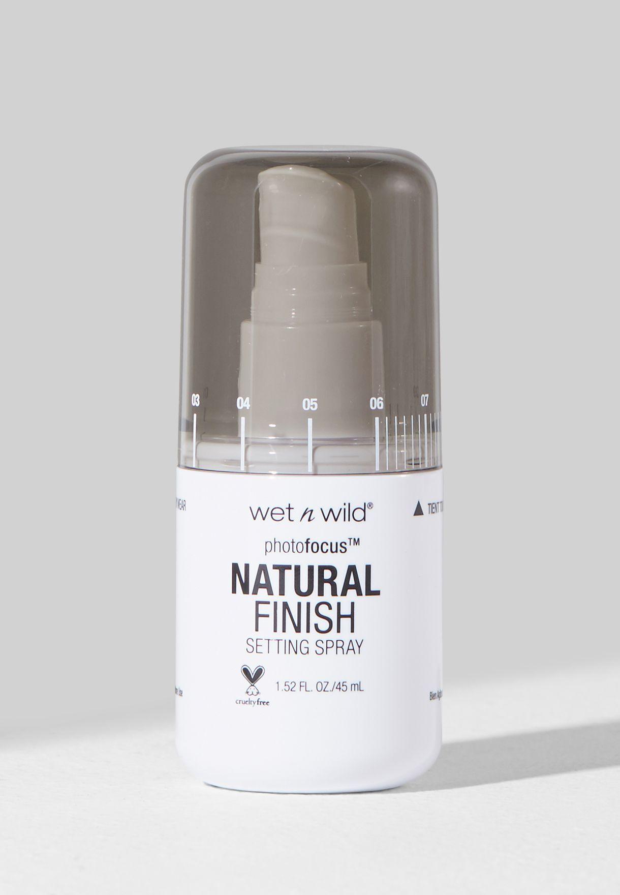 Natural Finish Setting Spray