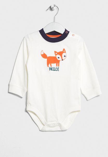 Infant Fox Bodysuit
