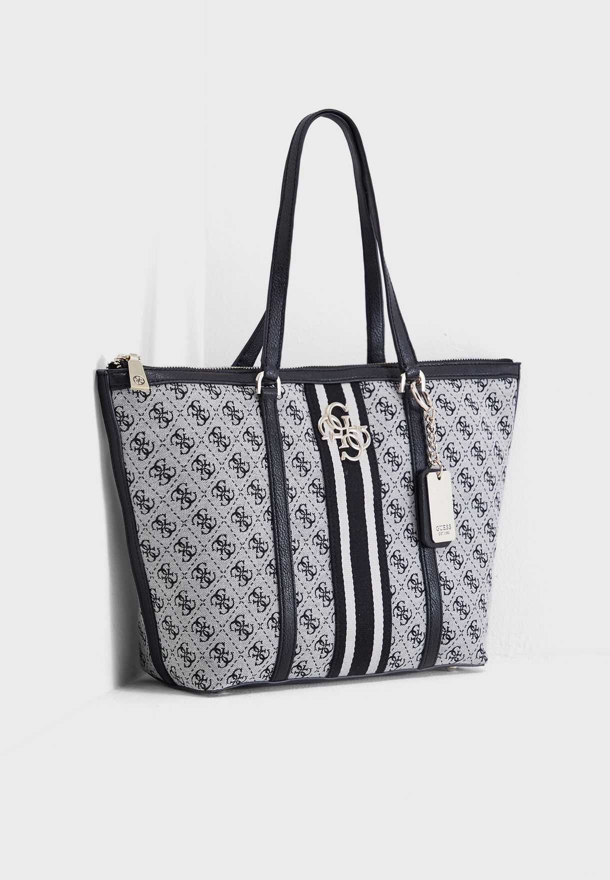 0c999999ab713 Shop Guess grey Guess Vintage Tote SG730423BLA for Women in UAE ...