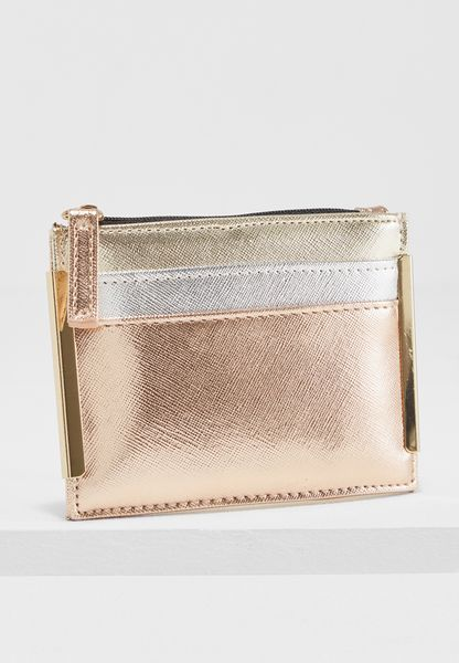 Mixed Metallic Cardholder