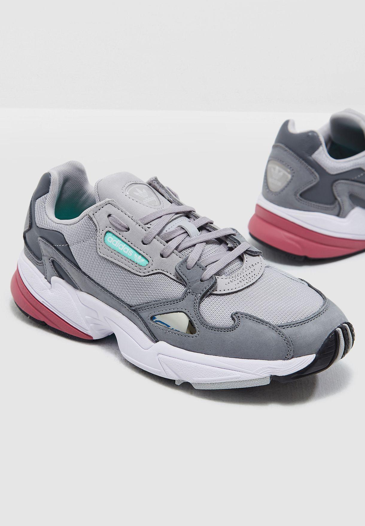 4b5fe2c92a5644 Shop adidas Originals grey Falcon D96698 for Women in UAE - AD478SH00UFZ