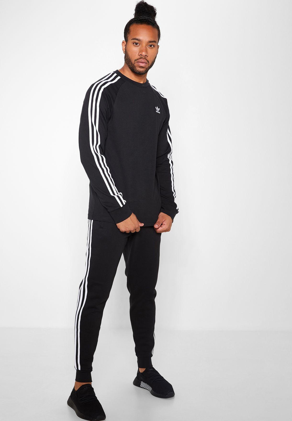 Adidas | adidas Originals Adicolour 3 Stripe Zip Front