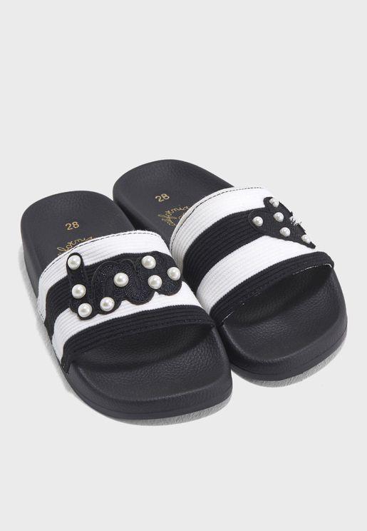 Infant Applique Slides