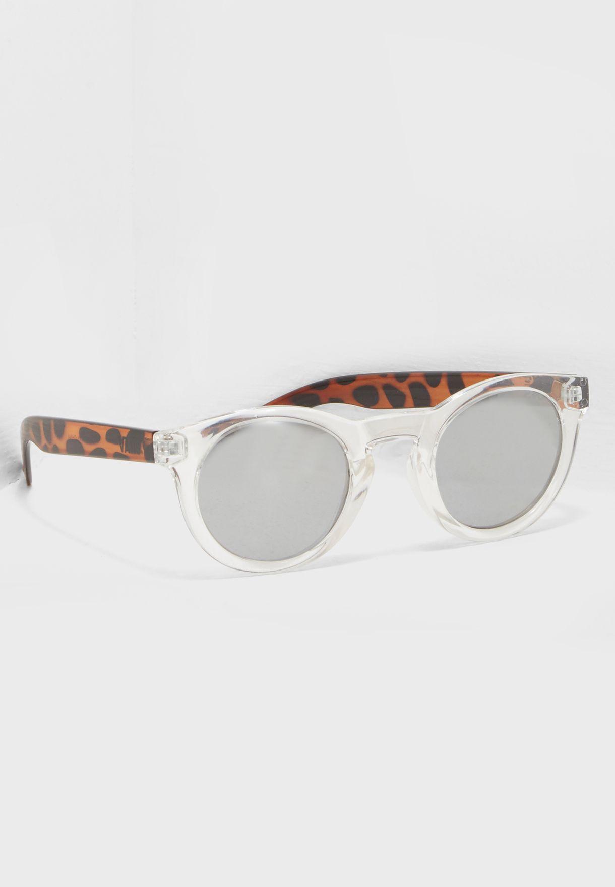 b52bad07a4ba79 Shop Vans clear Lolligagger Sunglasses VA31TAJ2Y for Women in Saudi ...