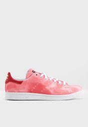 Shop adidas Originals pink Pharrell Williams Hu Holi Stan Smith AC7044 for  Men in Saudi - AD478SH00IDR