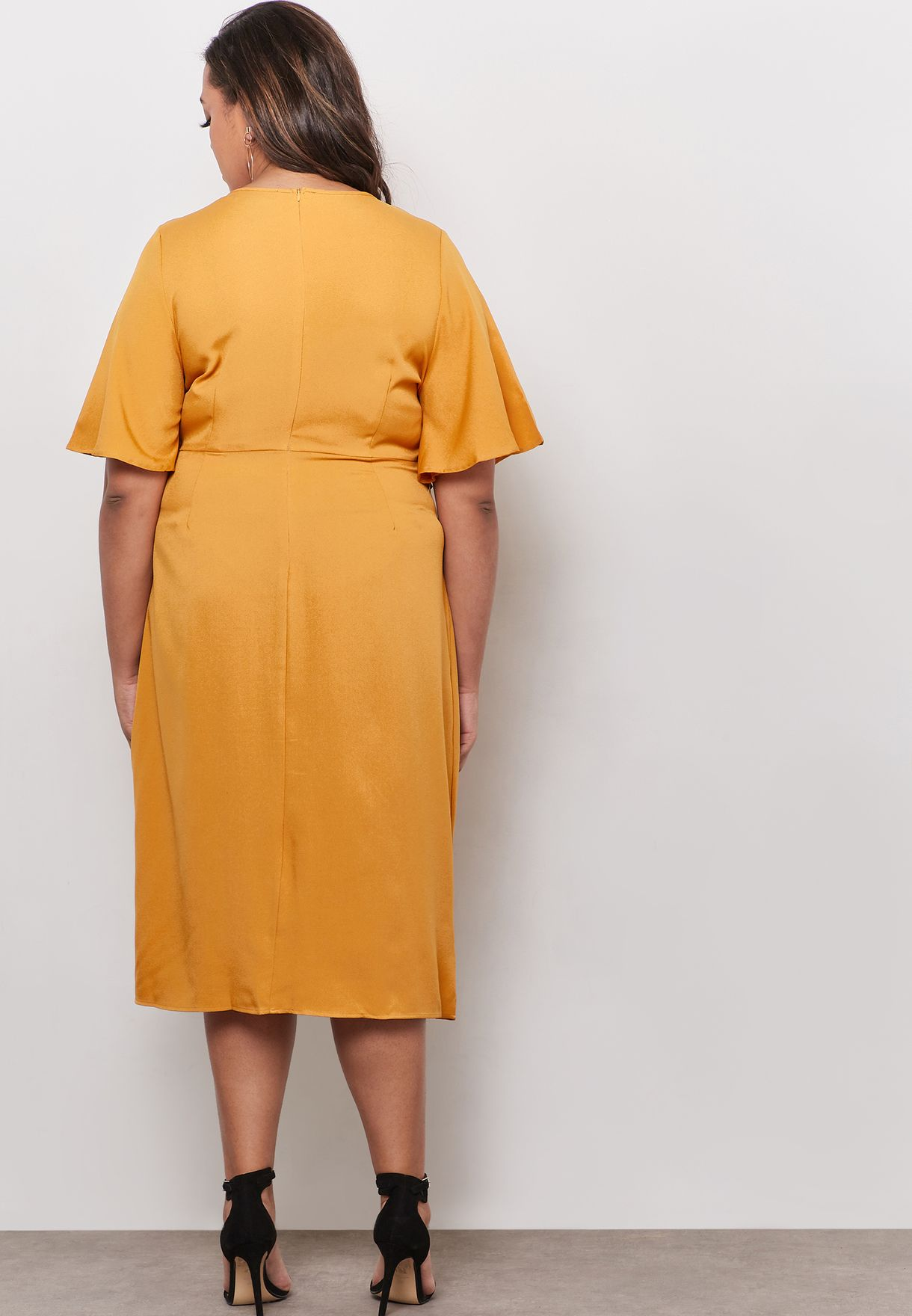 Tie  Front Knot Dress