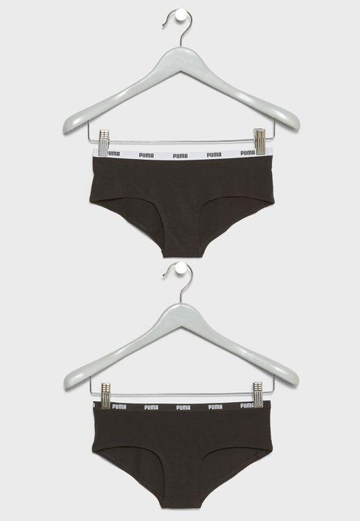 2 Pack Iconic Bikini Briefs