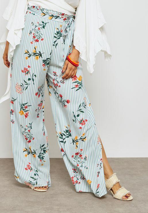 Slit Detail Pants