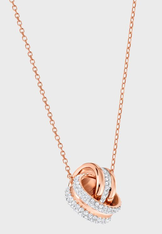 Further Pendant Rose Gold Plated