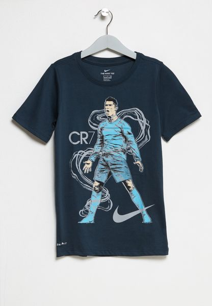 Youth Dri-Fit Ronaldo T-Shirt