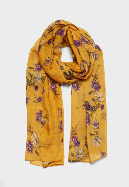 Way Out Floral Scarf