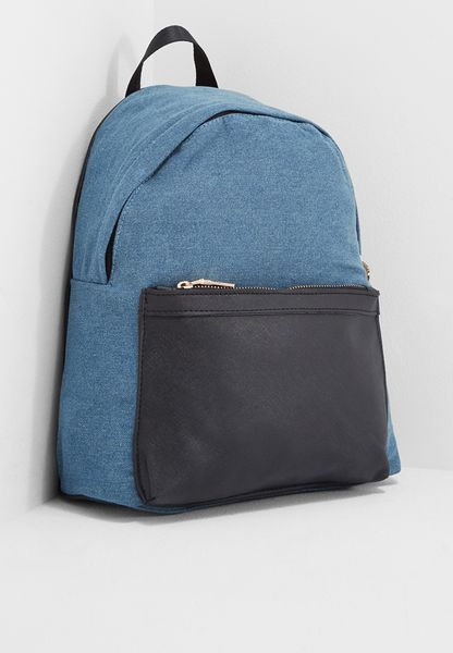 Denim Backpack